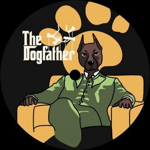 "( DGFTHR ) MARLON BRANDOG - The Dogfather ( 12"" vinyl ) DGFTHR"