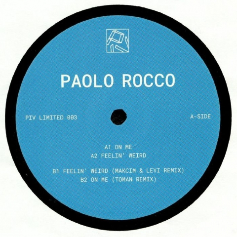 "( PIVLIM 003 ) Paolo ROCCO - PIVLIM 003 (12"") PIV Limited Holland"