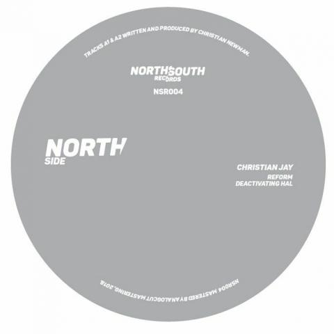 "( NSR 004 ) Christian JAY / ROB AMBOULE - NSR 004 (140 gram vinyl 12"") NorthSouth"