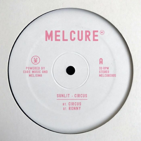 "( MELCURE 005 ) SUNLIT - Circus EP (12"") Melcure Spain"