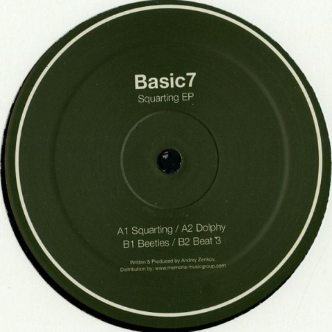 "( BSCSVN 03 ) BASIC7 - Squarting EP (12"") Basic7 Holland"