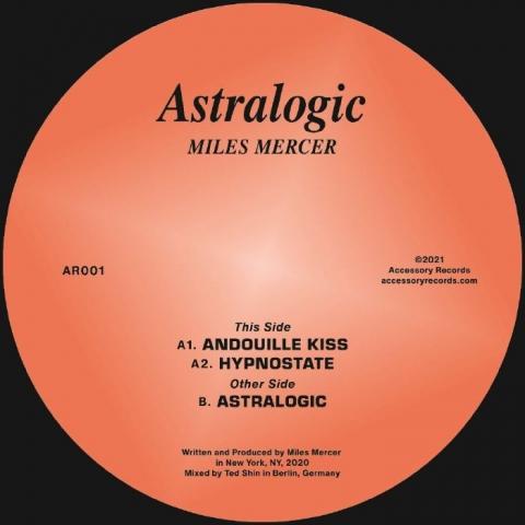 "( AR 001 ) Miles MERCER - Astralogic (12"") Accessory US"