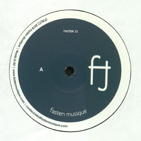 "( FASTEN 12 ) LAUGHING MAN - Moments EP (12"") Fasten Musique"