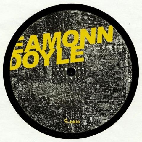 "( EKLO 041 ) Eamonn DOYLE - Ghost Of The Machine EP (12"") Eklo France"