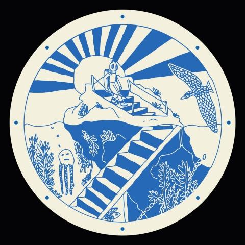 """( DW 01 ) SANS SUCRE - The First Dive (12"""" Vinyl) Distant Water"""
