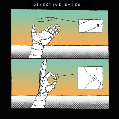 ( ROBE 001 ) VARIOUS - Defective Bytes EP (LTD 300 COPIES VINYL) Rota Bene Austria