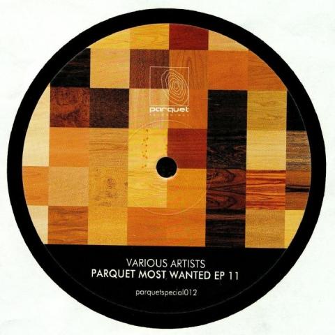"( PARQUETSPECIAL 012 ) SOLEE / JULIAN WASSERMANN / LUNAR PLANE / BOX AXIS - Parquet Most Wanted EP 11 (12"") Parquet Germany"