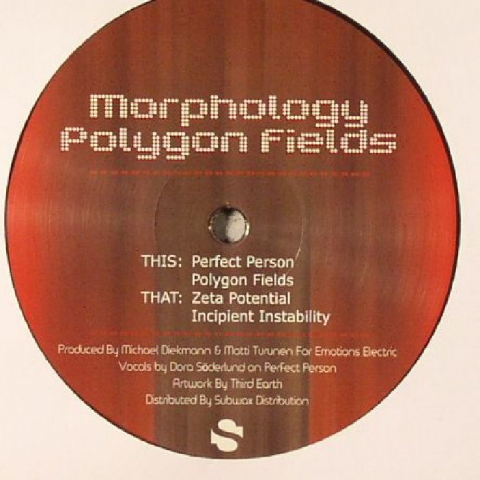 "( EE 0003 ) MORPHOLOGY - Polygon Fields (12""repress) Emotions Electric"