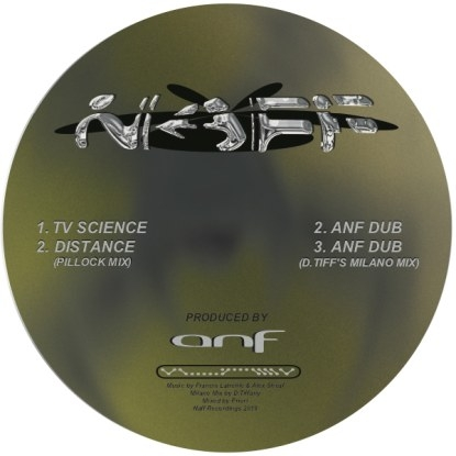 "( NAFF 005 ) ANF - TV Science (12"") Naff Canada"