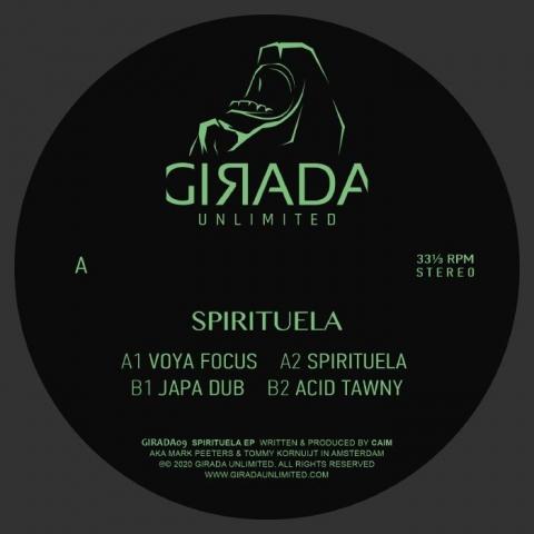 """( GIRADA 09 ) CAIM - Spirituela (12"""") Girada Unlimited Spain"""