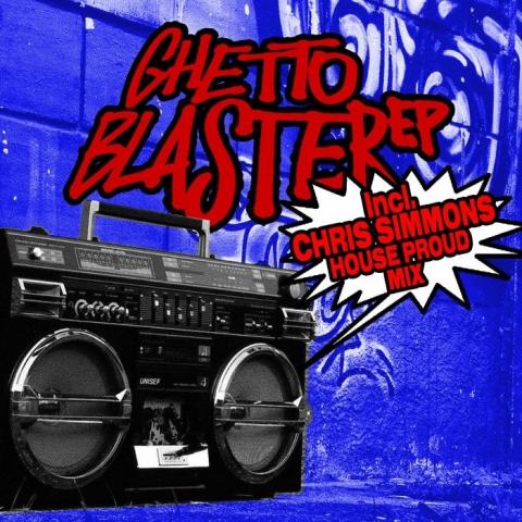 "(  SMILE&STAYHIGH 004 ) DJ CREAM - Ghetto Blaster EP (12"") Smile&StayHigh Italy"