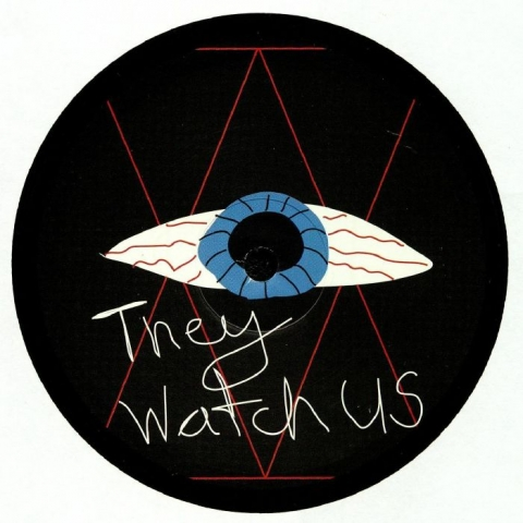 "( WH 001 ) Jay TRIPWIRE - They Watch Us (heavyweight vinyl 12"") Witching Hour"