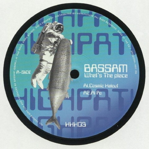 "( HHH 003 ) BASSAM - What's The Place (12"") Highpath"
