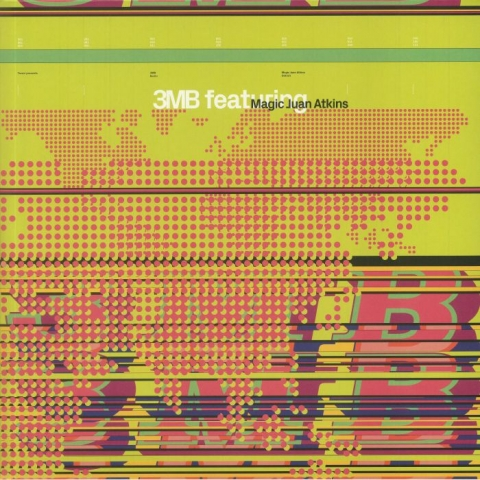 ( TRESOR 009LP ) 3MB feat MAGIC JUAN ATKINS - 3MB feat Magic Juan Atkins (reissue) (gatefold 180 gram vinyl 2xLP + MP3 download code) Tresor Germany