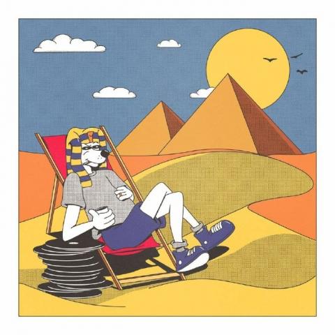 "( SAKANAT 001 ) MEHDIM - Break The Juno (12"") Sakanat Egypt"