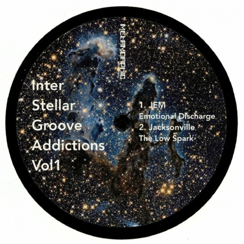 "( MET 033 ) JEM / JACKSONVILLE / DAN CURTIN / GOIZ - Interstellar Groove Addictions Vol 1 (12"") Metamorphic US"