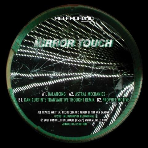 """( MET 038 ) MIRROR TOUCH - Balancing EP (12"""") Metamorphic US"""