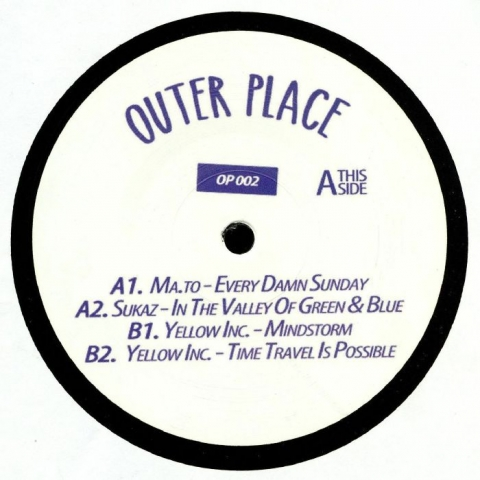 "( OP 002  ) MA TO / SUKAZ / YELLOW INC - Galaxy (12"") Outer Place Germany"