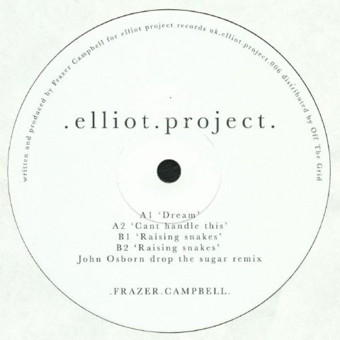 ( ELLIOTPROJECT 006 ) Frazer CAMPBELL - ELLIOTPROJECT 006  ( 2xLP + sticker ) Elliot Project
