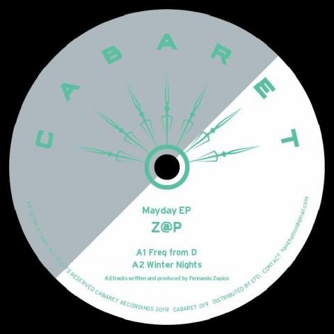"""( CABARET 019 ) Z@P - Mayday EP (12"""") Cabaret Japan"""