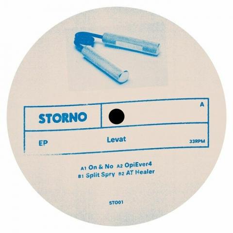 """(  ST 001 ) LEVAT - Storno (12"""") Storno Germany"""