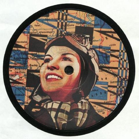 "( KT 004 ) Chris GESCHWINDNER / ADAM COLLINS / SEAFOAM - Changing Tides EP (12"") Kommuna Tapes Spain"