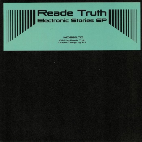 """( MOE 81LTD ) READE TRUTH - Electronic Stories EP (12"""") Mode Of Expression"""