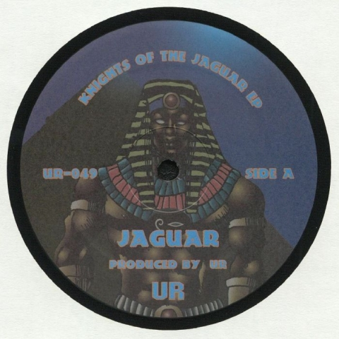 "( UR 049 ) AZTEC MYSTIC - Knights Of The Jaguar EP (12"" repress) Underground Resistance US"
